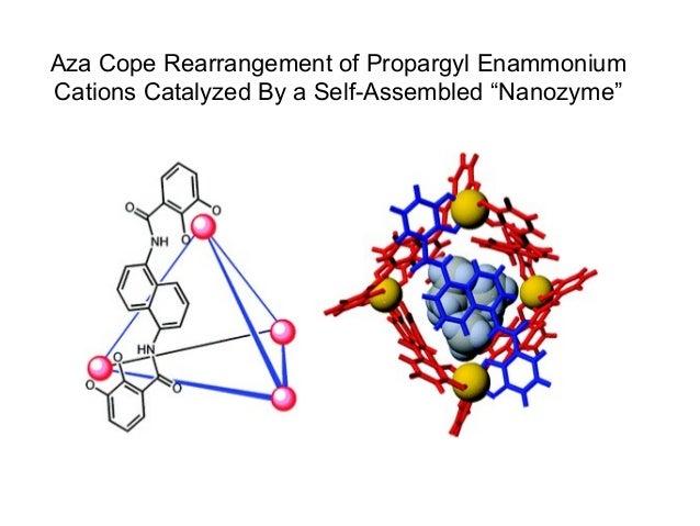 "Aza Cope Rearrangement of Propargyl Enammonium Cations Catalyzed By a Self-Assembled ""Nanozyme"""