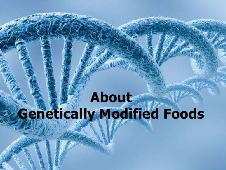AboutGenetically Modified Foods<br />