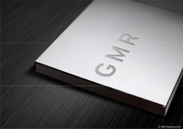 © GMR Marketing 2010