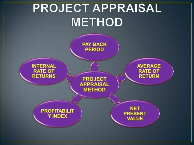 project appraisal techniques Basically computation of project appraisal technique with a special reference to financial parameters - payback, discounted cash flow, npv, irr etc are explain.