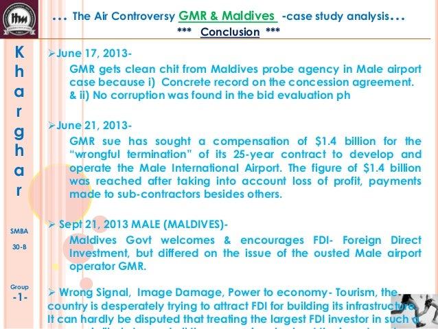 GMR & MALDIVE case study - SlideShare