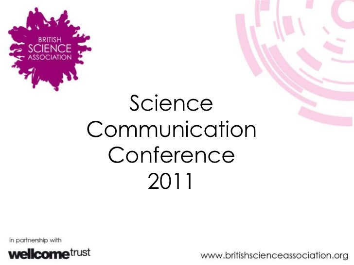 Science Communication Conference 2011<br />