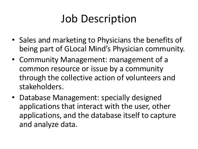 EP Learning Points• Department of Work : Sales and Marketing• Industry Knowledge and sales to healthcareprofessionalsWork ...