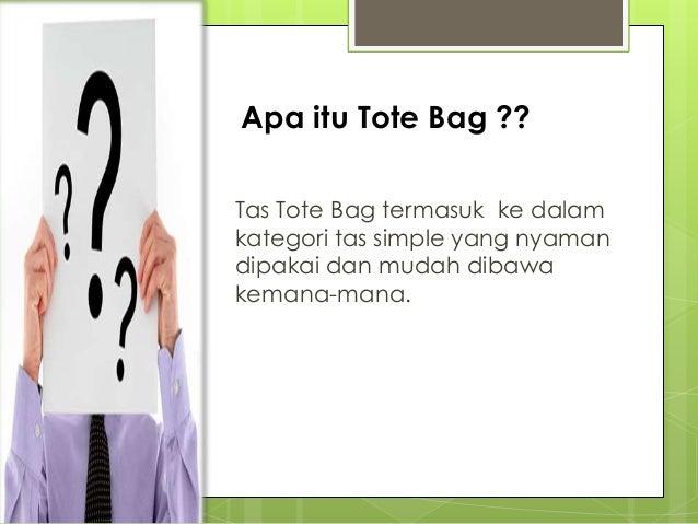089.666.104.963 (Three), Jual Tote Bag, Tas Tote Bag