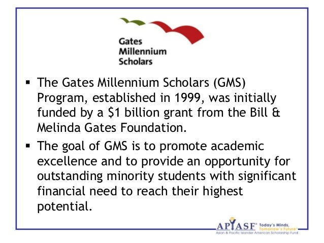 introduction to the gates millennium scholars program orgcreated by phong luu 2  the gates millennium