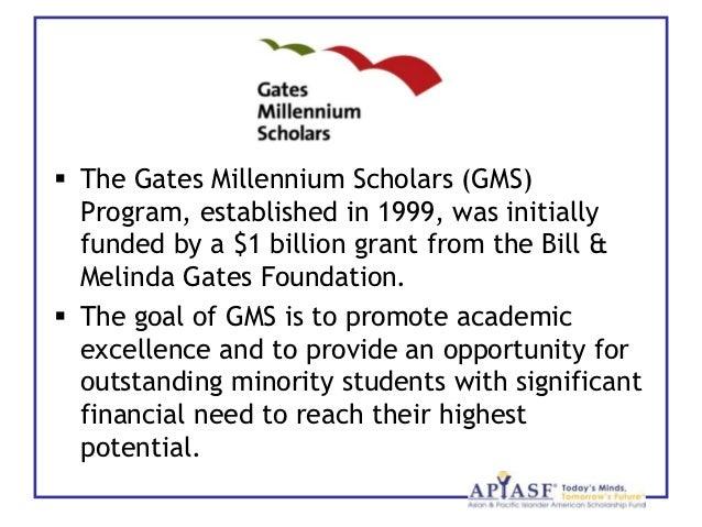 Gates millennium scholarship winners essays