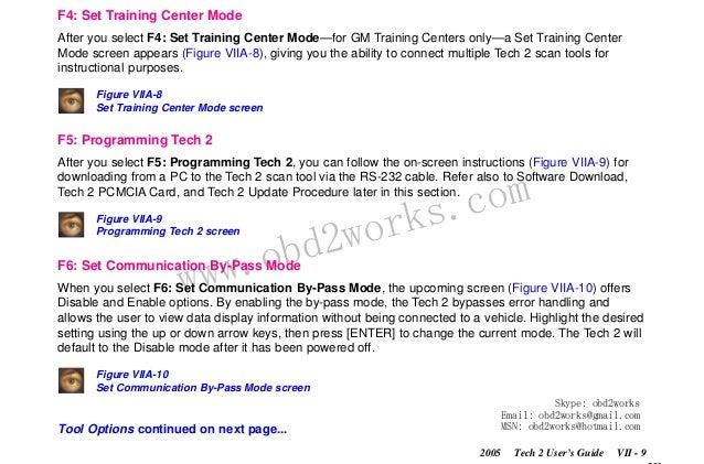 Saab Tech 2 Programming Options