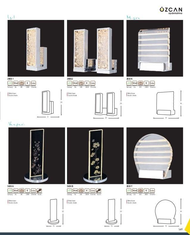 181 45 120 Metal base Opal Glass Metal base Opal Glass 60 120 40w -- White 6305-3A LUMEN E14 x 3 40w -- White 6305-6A LUME...
