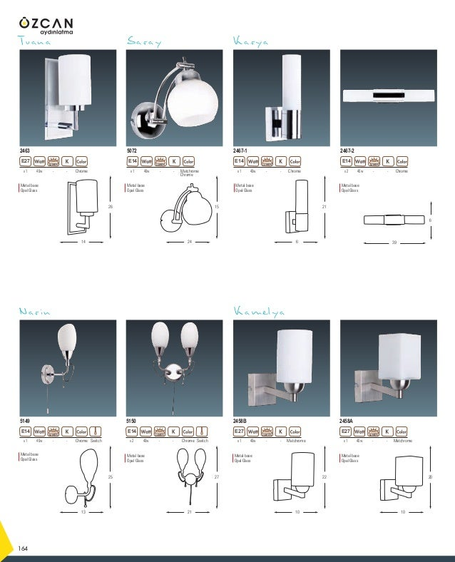Metal base Acrylic shade Metal base Acrylic shade Metal base Acrylic Arundo 212 White Code : 01 Orange Code : 09 40w -- Tr...