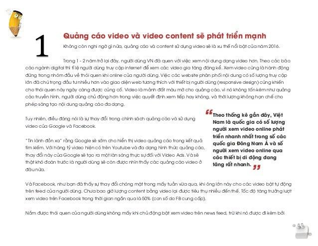 Xu hướng Digital Marketing tại Việt Nam năm 2016 Slide 2