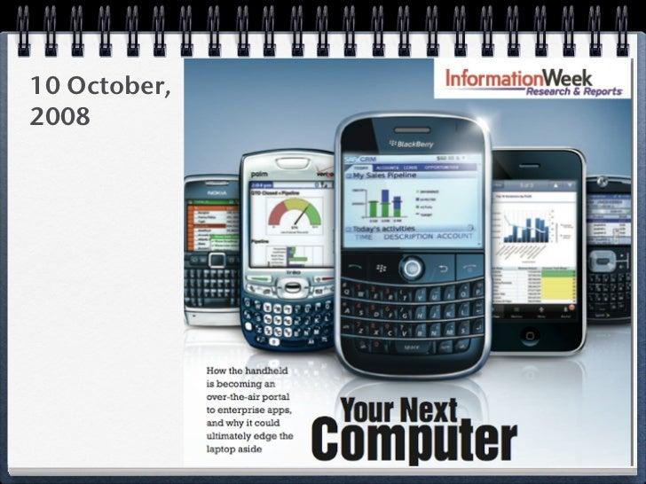 Handheld/Mobile Timeline