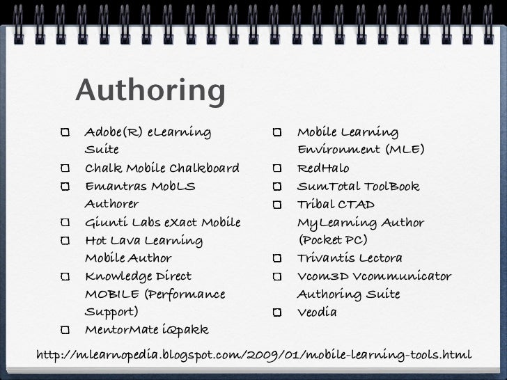 Mobile Learning Series         Why should we care?         What is Mobile Learning?         Who is doing what?         How...