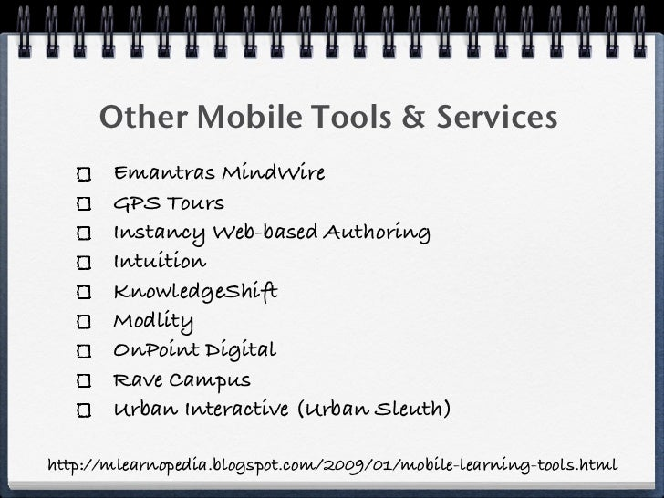 GMU/DAU Mobile Learning Workshop