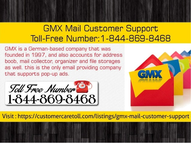 GMX Mail Customer Support Toll-Free Number: 1-844-869-8468
