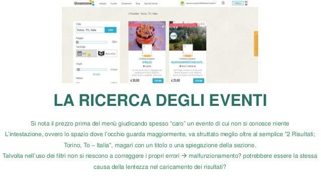 ESPLORARE EVENTI La maggior parte degli utenti esplora la pagina di un evento dopo più di 3 minuti dall'inizio della ricer...
