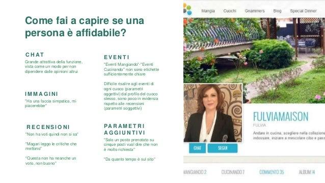 """C O E R E N Z A I N T E R N A Cliccando su """"Cuochi"""" si aspetta la classifica dei migliori cuochi a Torino, informazione ch..."""