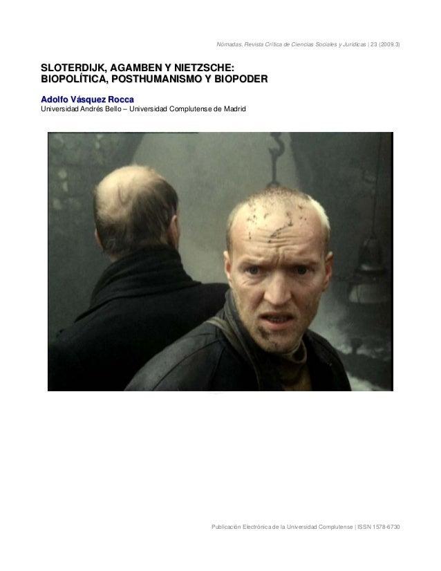Nómadas. Revista Crítica de Ciencias Sociales y Jurídicas | 23 (2009.3) Publicación Electrónica de la Universidad Complute...
