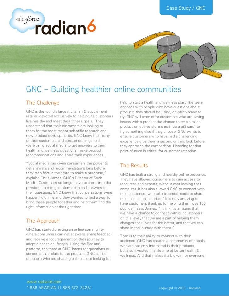 Case Study / GNCGNC – Building healthier online communitiesThe Challenge                                            help t...