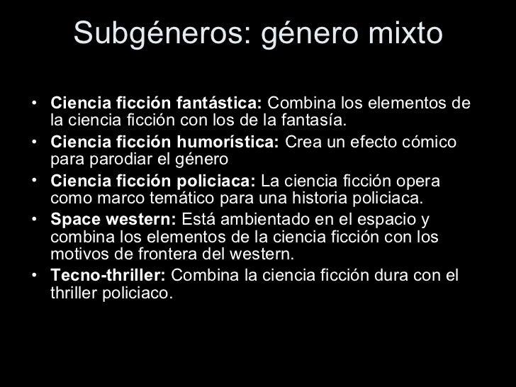 genero de ciencia ficcion literatura latina - photo#9
