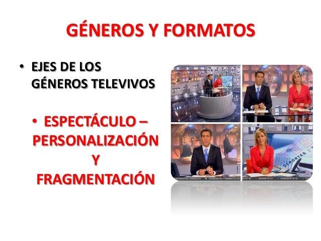 g neros y formatos de la televisi n informativa