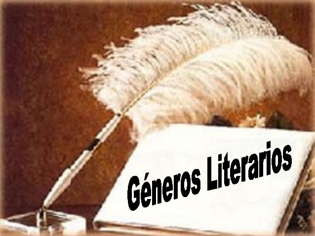 GÉNEROS     YSUBGÉNER    OSLITERARIO     S