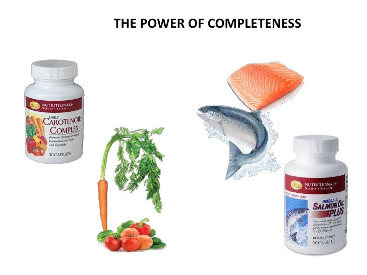THE POWER OF COMPLETENESS                When they're not all there               things just don't work right!That why GN...