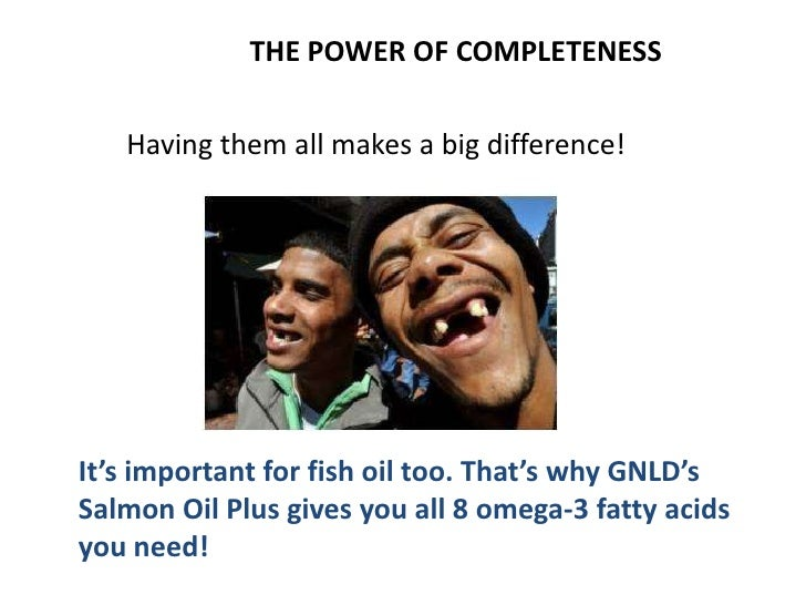THE POWER OF COMPLETENESS        When something's       missing it's hard to get       to where you need to               ...