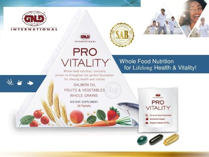 Whole Food Nutrition  for Lifelong Health & Vitality!