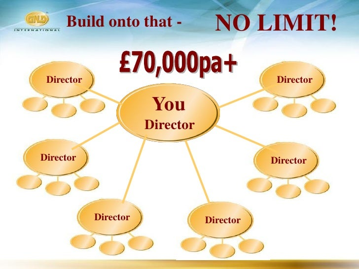 Build onto that -              NO LIMIT!   Director                                     Director                          ...