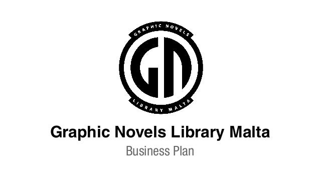 Graphic Novels Library Malta Business Plan
