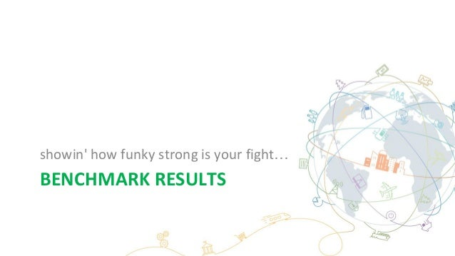 BENCHMARK RESULTS showin' how funky strong is your fight…