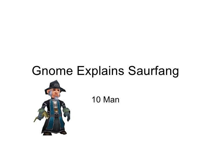 Gnome Explains Saurfang 10 Man