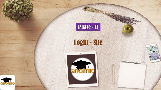Phase – II Login - Site