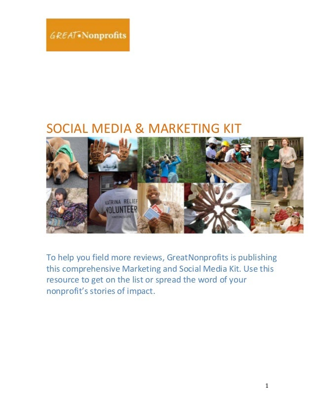 SOCIAL	   MEDIA	   &	   MARKETING	   KIT	     	     	     To	   help	   you	   field	   more	...
