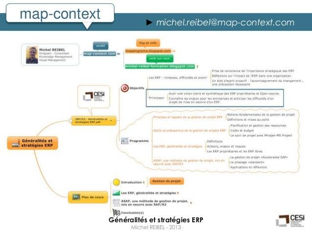 map-context              ► michel.reibel@map-context.com              Généralités et stratégies ERP                    Mic...