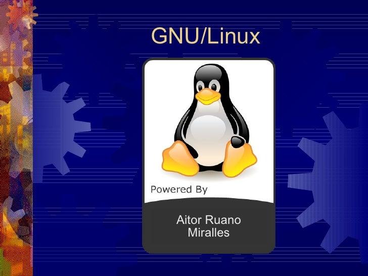 GNU/Linux Aitor Ruano Miralles