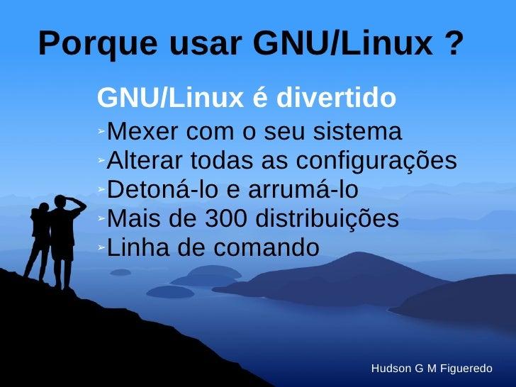 GNU/Linux Atualidades e Tendências Slide 3