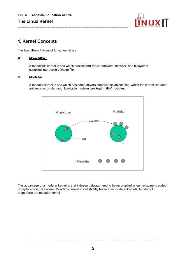 Linux study materials