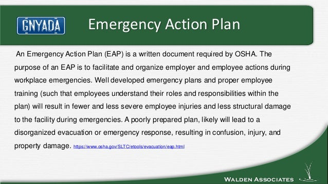 ... Emergency Action Plan; 2.