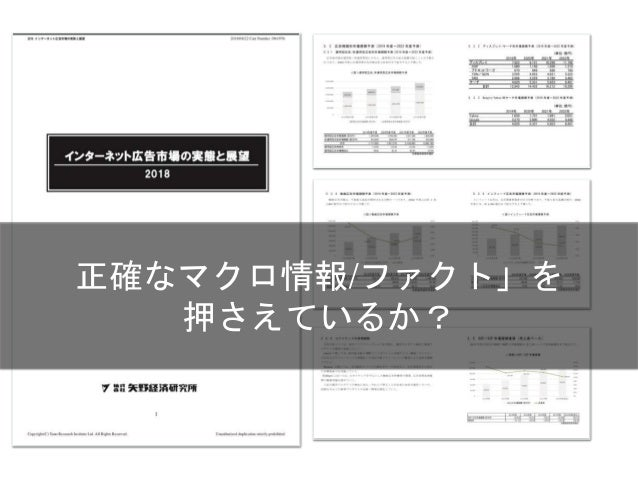 今から10年後の市場がどのように 変化していくかを想定する Copyright 2018 Masayuki Tadokoro All rights reserved Startup Science 2018