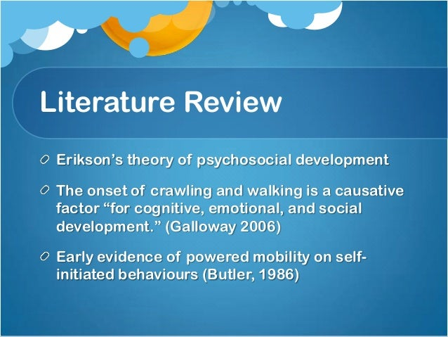 case study psychosocial development