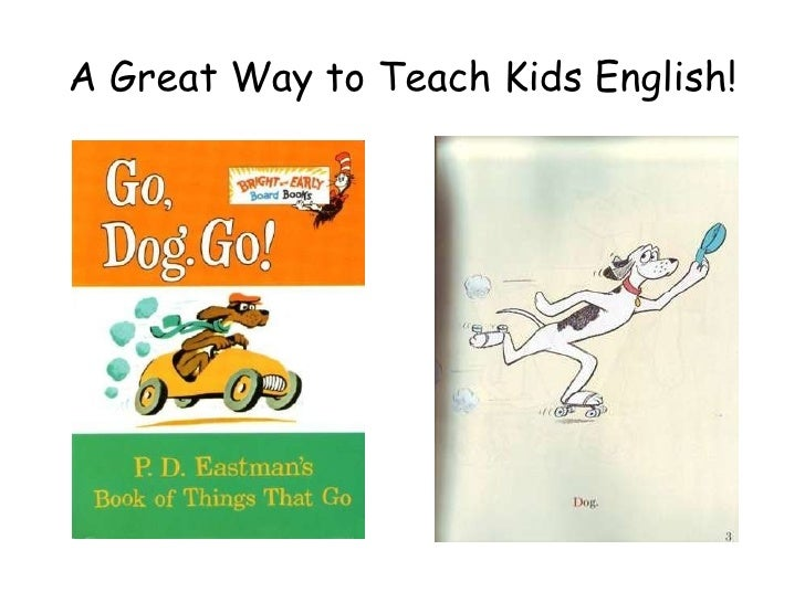 A Great Way to Teach Kids English!