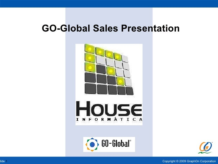 GO-Global Sales Presentation