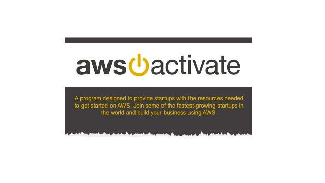 Go to Market with AWS for Startups