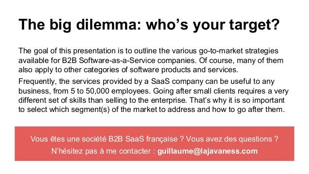 Go to market strategy for b2b saas companies for Cd market galeria jardin