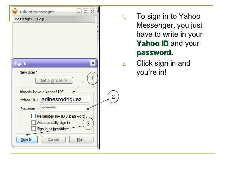 Go To Yahoo User