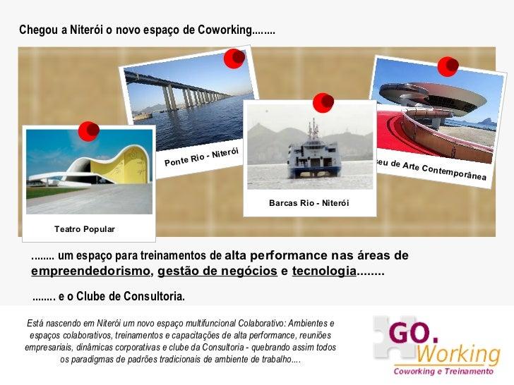 Chegou a Niterói o novo espaço de Coworking........ Museu de Arte Contemporânea Barcas Rio - Niterói ........ um espaço pa...