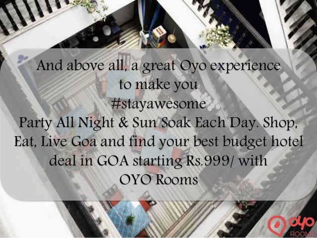 Experience the best of budget hotels in India with OYO Rooms, India's fastest growing chain of Standardized Budget Rooms w...