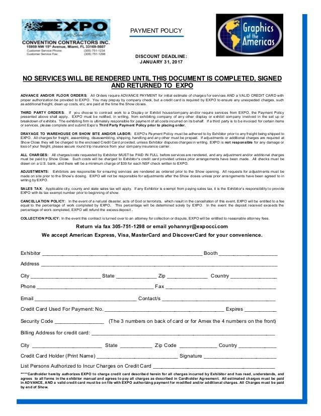 Goaexpo 2017 exhibitor service manual pdf 2 malvernweather Gallery