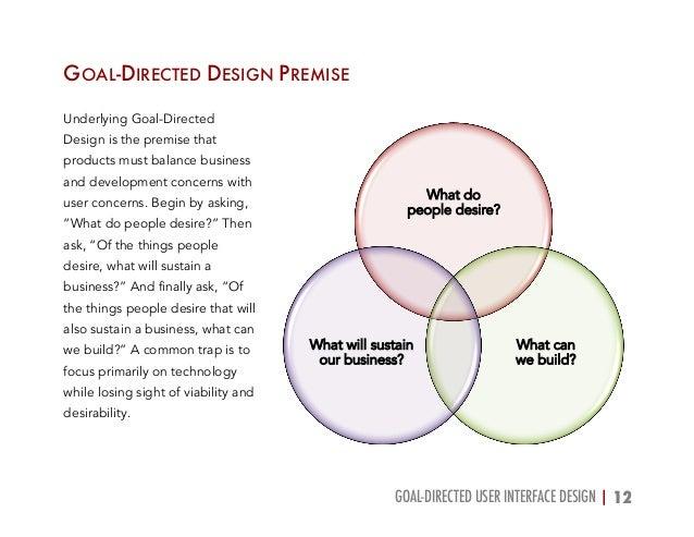 Goal Directed User Interface Design Case Study